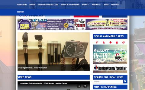 Screenshot of Home Page wsjm.com - News/Talk 94.9 WSJM | Depend On Us. - captured June 18, 2017