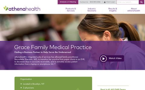 Family Practice EHR | athenaClinicals | athenahealth