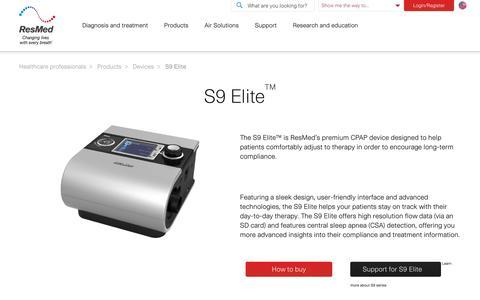 S9 Elite | ResMed