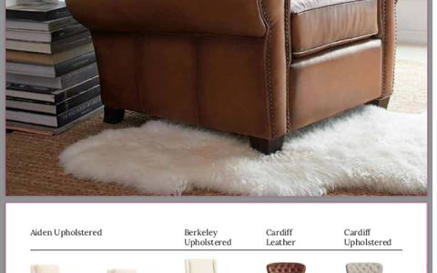 Leather & Upholstered Chairs | Pottery Barn