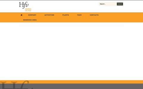 Screenshot of Privacy Page hfvspa.com - Privacy Policy - captured Nov. 10, 2016
