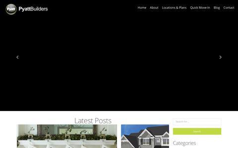 Screenshot of Blog pyattbuilders.com - Blog - Pyatt Builders - captured Sept. 20, 2017