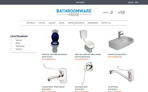 Disabled and Special Care Bathroom Products | Bathroomware House