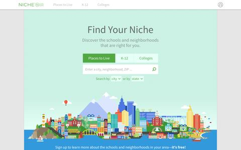 Niche: Explore Schools and Neighborhoods