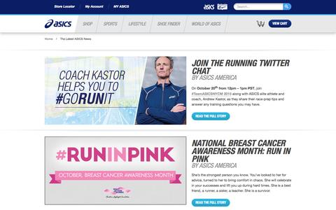 The Latest ASICS News | asicsamerica.com