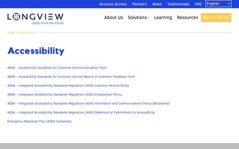 Accessibility | Longview