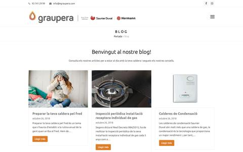Screenshot of Blog egraupera.com - Blog - Graupera - captured Dec. 16, 2018