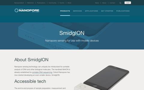 SmidgION