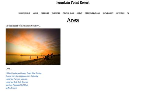 Area – Fountain Point Resort