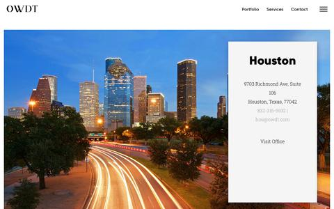 Screenshot of Locations Page owdt.com - OWDT Locations | Website Design & Digital Marketing Experts - captured June 28, 2019