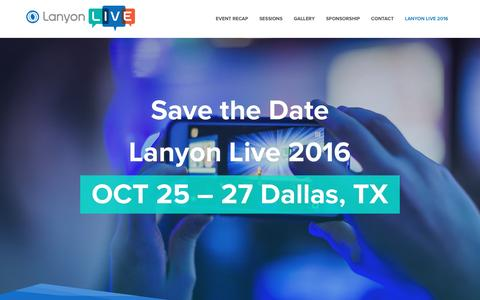 Lanyon Live | Dallas, Texas