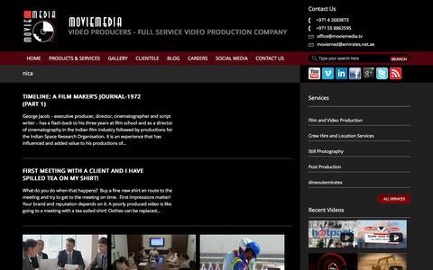 Screenshot of Developers Page moviemedia.tv - nica | MOVIEMEDIA - captured July 21, 2016