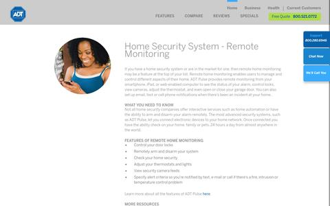 Remote Home Monitoring From Your Smartphone | ADT Security