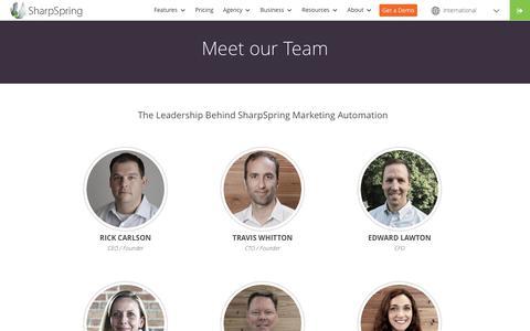 team | SharpSpring