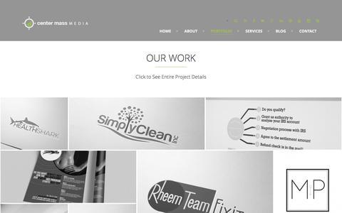 CENTER MASS MEDIA Center Mass Media | Design Portfolio