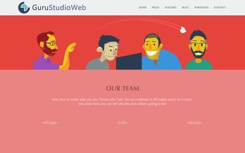 Screenshot of About Page gurustudioweb.it - About us   GuruStudioWeb - captured Sept. 30, 2014