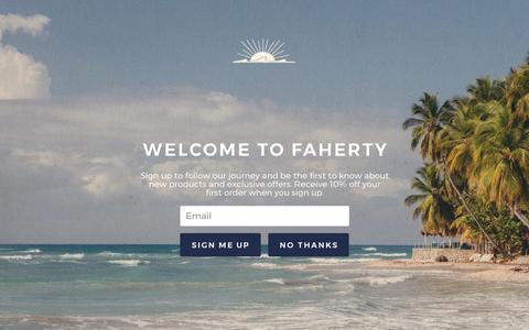Screenshot of Jobs Page fahertybrand.com - Careers – Faherty Brand - captured June 5, 2017