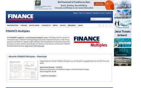 Multiples-FINANCE Magazin