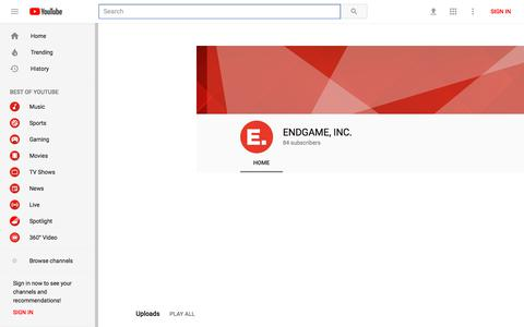 ENDGAME, INC. - YouTube - YouTube