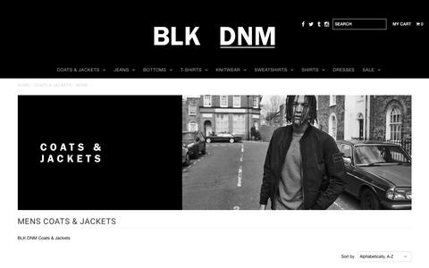 MENS    LUXURY LEATHER JACKETS & COATS       – BLK DNM