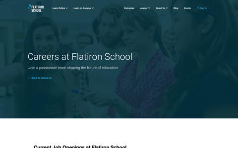 Careers   Flatiron School