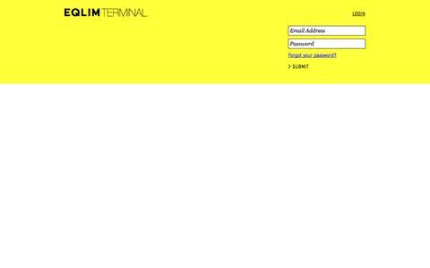 Screenshot of Login Page eqlim.com captured Oct. 28, 2014