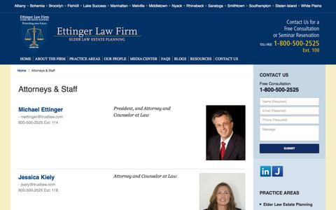 Screenshot of Team Page trustlaw.com - New York Probate Attorney :: Attorneys & Staff :: Albany Estate Planning Lawyer - captured Jan. 31, 2016