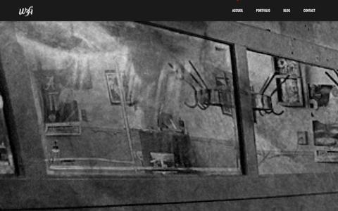 Screenshot of Home Page agence-w3g.com - Agence web Corse et Studio graphique - W3G - captured Oct. 9, 2014