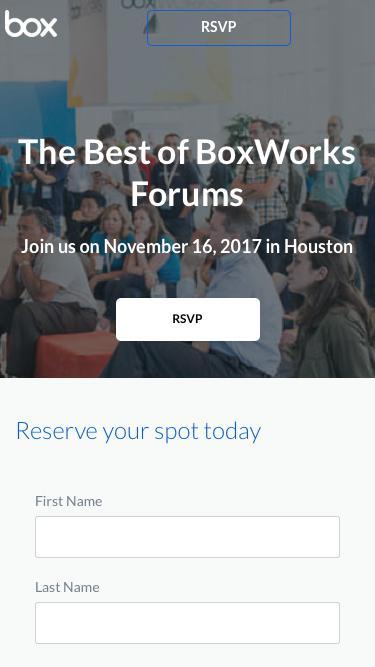 Best of BoxWorks Forum Houston
