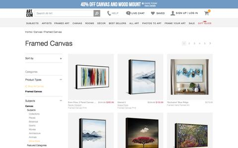 framed-canvas, Posters and Prints at Art.com