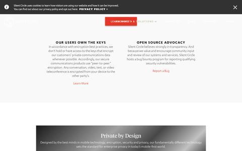 Mobile Privacy Platform for Enterprise | Silent Circle