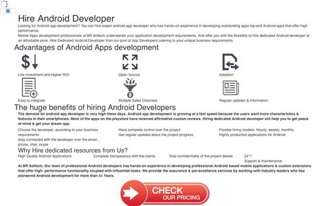 Hire Android Developers | Dedicated Android App Programmers India