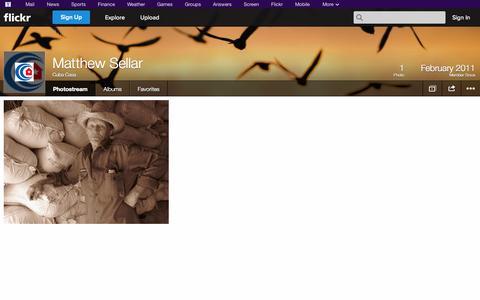 Screenshot of Flickr Page flickr.com - Flickr: Cuba Casa's Photostream - captured Oct. 22, 2014