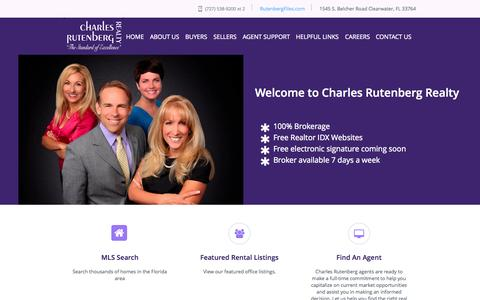 Screenshot of About Page gocrr.com - Charles Rutenberg Realty - Featuring Prime Properties in the Clearwater and Tampa Bay Area - captured Oct. 2, 2014