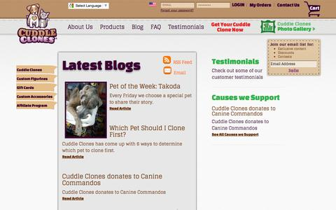 Pet Community | Where the Cuddle Clones Dog and Cat Community Meets