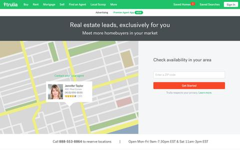 Real Estate Agent Advertising: Get More Leads | Trulia