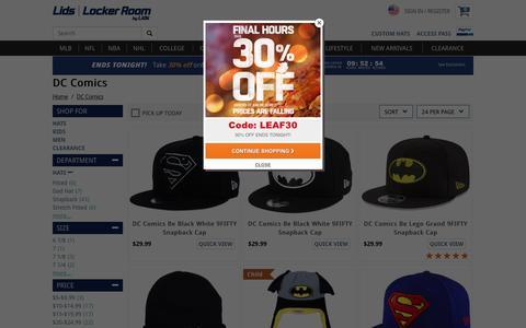 Batman Hats & Superman Caps: Comic Book Caps | lids.com