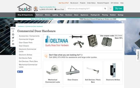 Commercial Door Hardware | Build.com: Shop Levers, Knobs, Locks, Parts