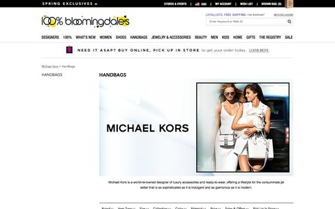 Michael Kors Handbags - Bloomingdale's
