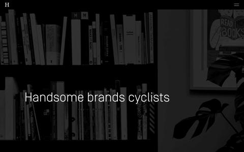 Screenshot of About Page handsomebrands.co.uk - Handsome Brands | It's not about us - captured Nov. 4, 2018