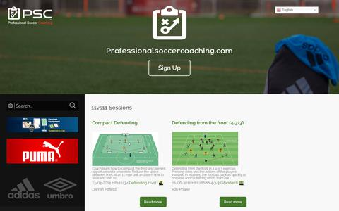Screenshot of Privacy Page professionalsoccercoaching.com - Privacy Notice - Uncategorised - Professional Soccer Coaching - captured Sept. 30, 2018