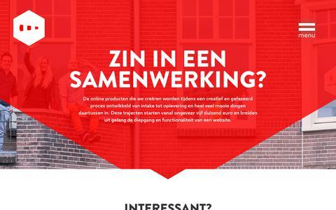 Screenshot of Contact Page vormkracht10.nl - Contact - Vormkracht10 - captured Sept. 20, 2018