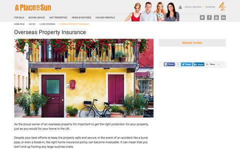 Insuring an Overseas Property