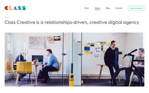 About - Class Creative - Web design Birmingham