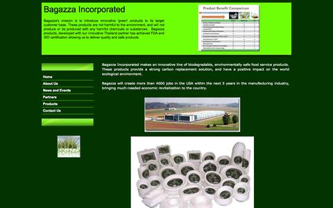 Screenshot of About Page bagazza.com - Bagazza Incorporated - captured Sept. 30, 2014