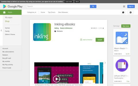Inkling eBooks - Apps on Google Play