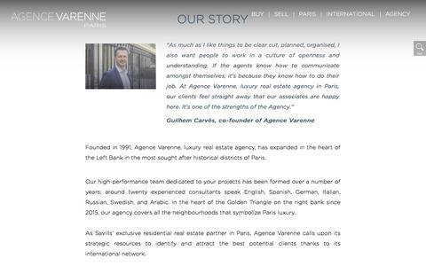 Screenshot of Team Page agencevarenne.fr - Agency - captured July 29, 2018