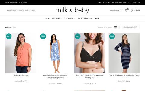 Sale - Clearance Breastfeeding Clothes - Milk And Baby – Milk & Baby