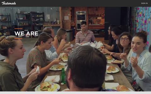 Screenshot of Jobs Page tastemade.com - Careers   Tastemade - captured Oct. 26, 2015
