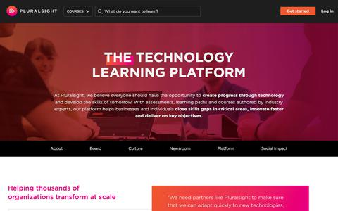About us | Pluralsight